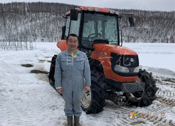 北海道で水稲栽培をする村井さん